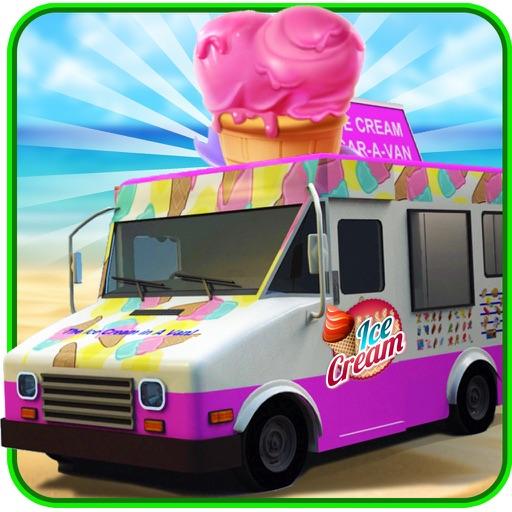 Beach Ice Cream Truck Delivery