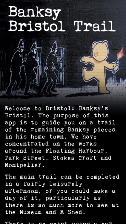 Banksy Bristol Trail screenshot-0