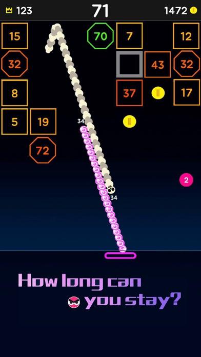 Snake Bricks-Bounce Balls screenshot 5