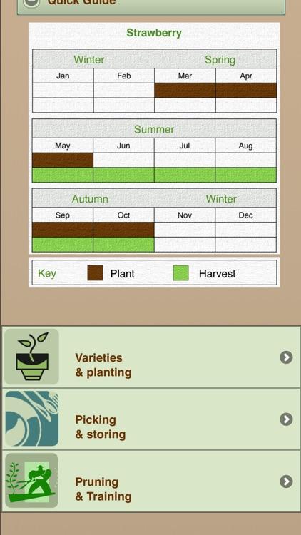 Growing Your Own Organic Fruit screenshot-3