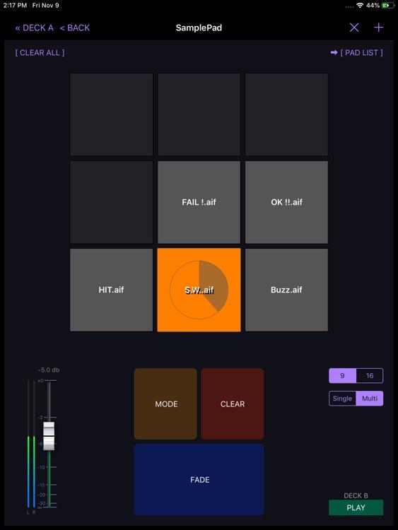 PlayBacker for iPad screenshot-8