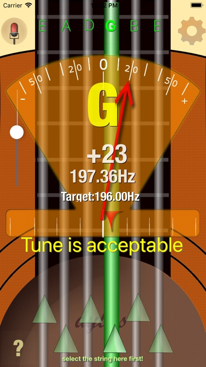 Dybos Guitar Tuner screenshot-2