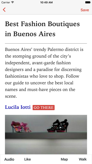 Fashions in Buenos Aires (L) screenshot one