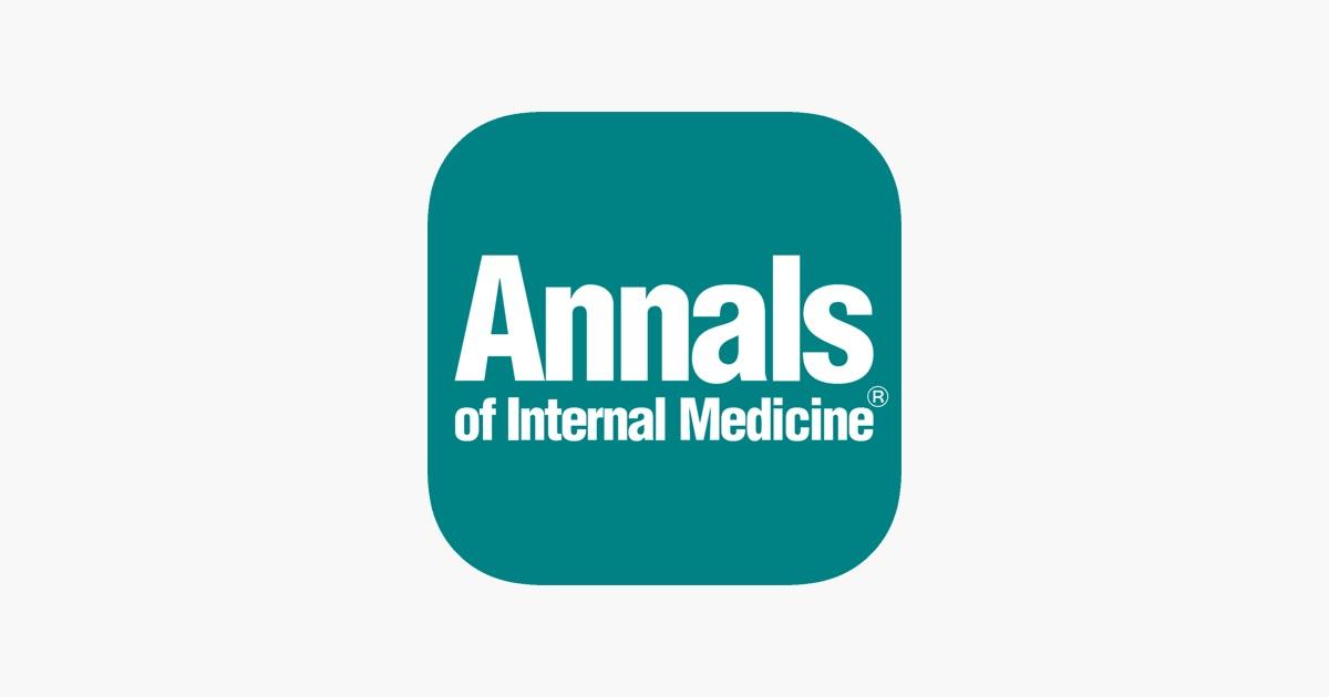 Картинки по запросу Annals of Internal Medicine