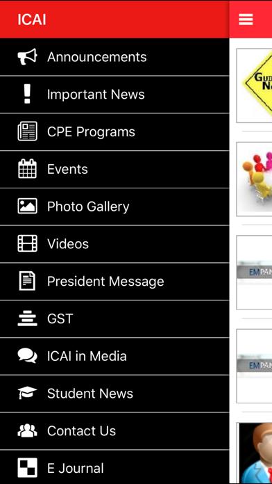 ICAI screenshot two