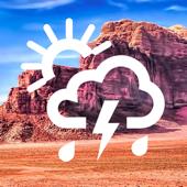 نشرة الطقس الشامله تطبيق طقس