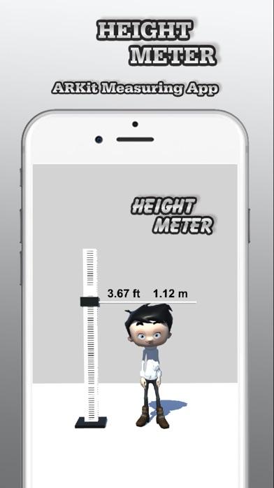 Height Meter - AR Measure App Screenshot on iOS