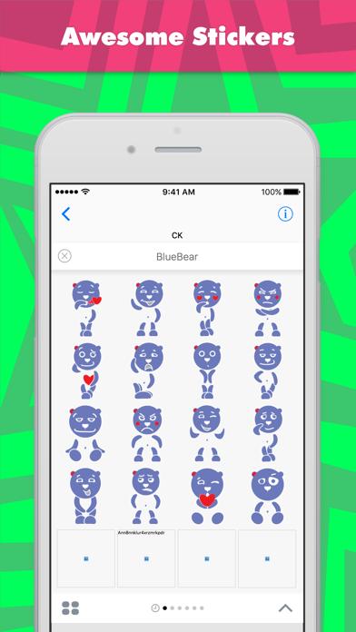 点击获取BlueBear stickers by CK