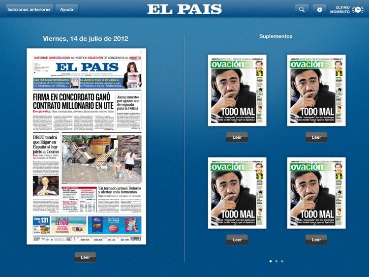 El País para iPad