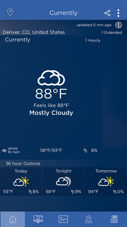 WeatherNation App screenshot-1