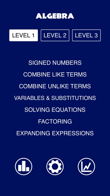 Algebra - Practice and prep