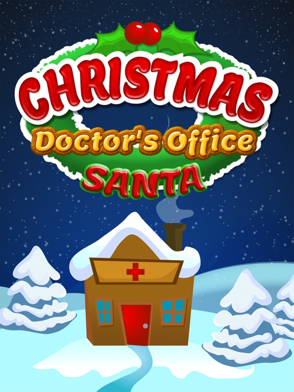 Christmas Doctor Hospital Care App Voor Iphone Ipad En