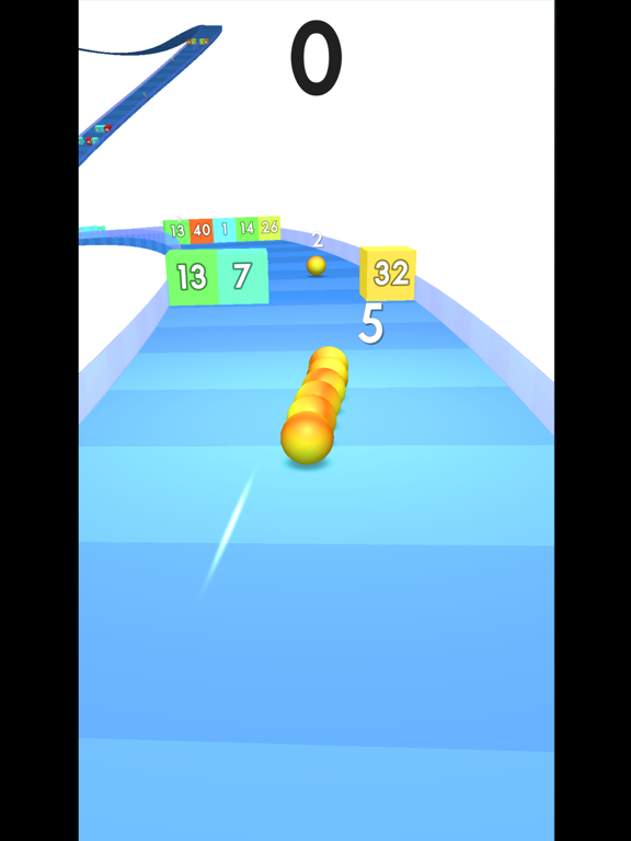 Snake Coaster vs Block screenshot 5