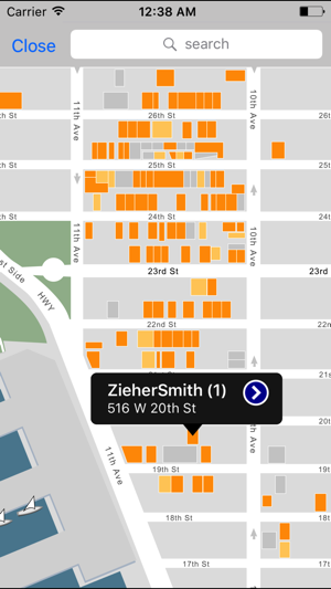 on chelsea galleries map