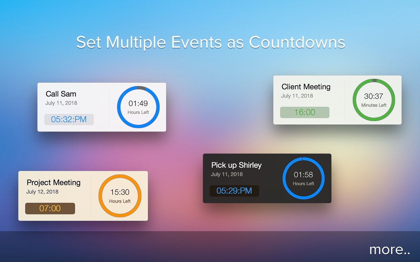 ‎Active Countdown on the Mac App Store