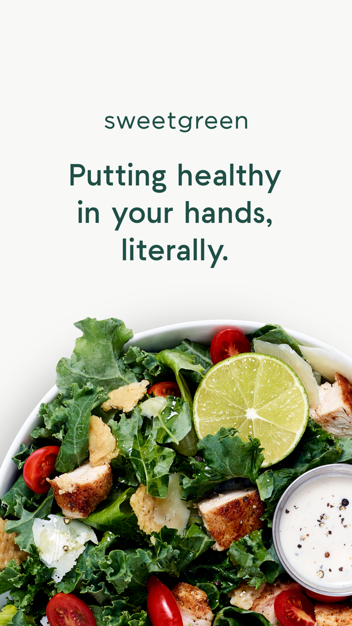sweetgreen Screenshot