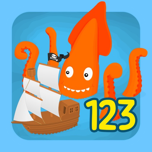 Learn to count 123 pirates
