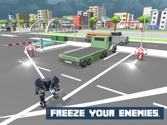 Snow Robot War: Freezing Power screenshot 8