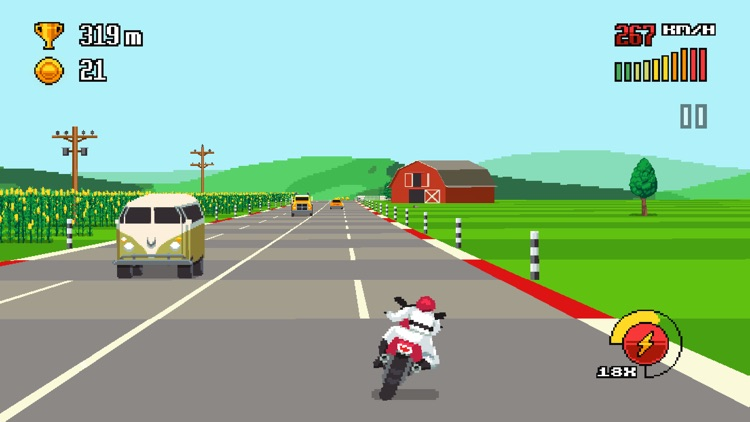 Retro Highway screenshot-0