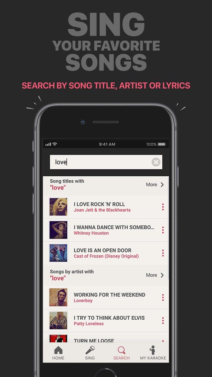 Singing Machine Karaoke Screenshot
