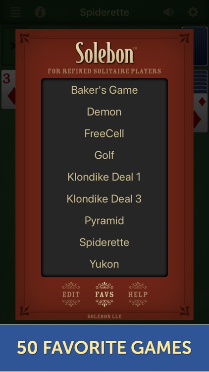 Solebon Solitaire Card Games screenshot-5