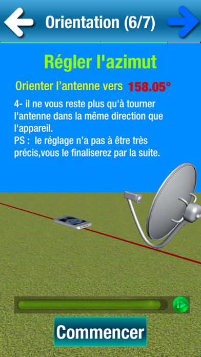 Installation pointage parabole free mac software - Orientation antenne tv ...
