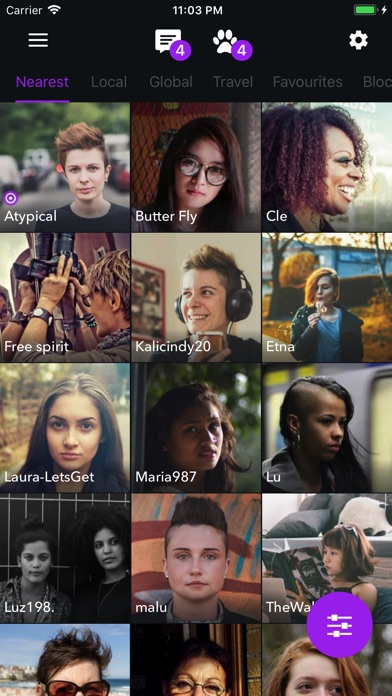 mobile lesbian personals Better dates come from better connections that's why okcupid shows off who you really are, beyond just a photo you should get noticed for what makes.