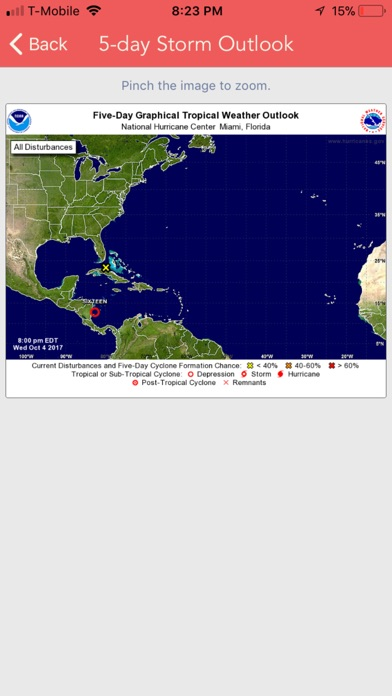 National Hurricane Center Data screenshot 4