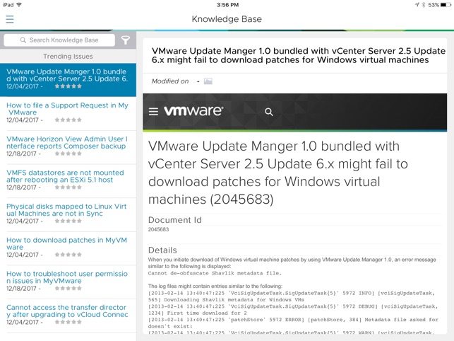 My VMware on the App Store
