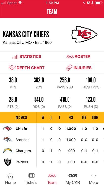 Kansas City Chiefs screenshot-4
