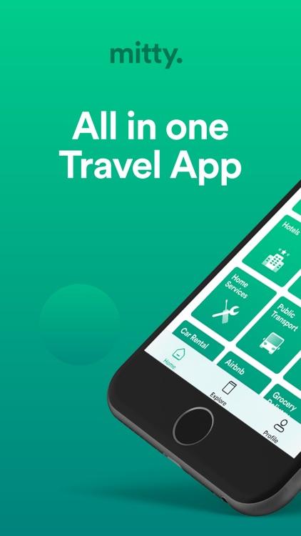 Mitty Travel App