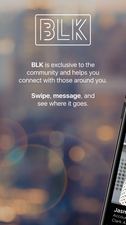 BLK - Swipe. Match. Chat.