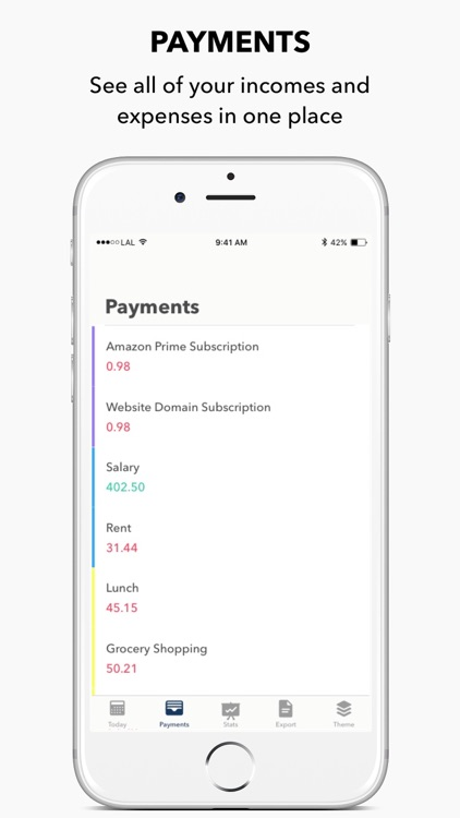 Lemon - Payments tracking