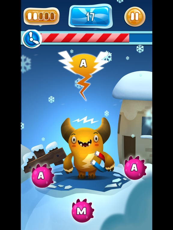 Feed The Monster Learn Russian Скриншоты9