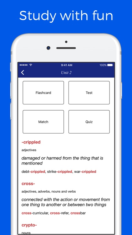 Combining Forms Dictionary screenshot-4