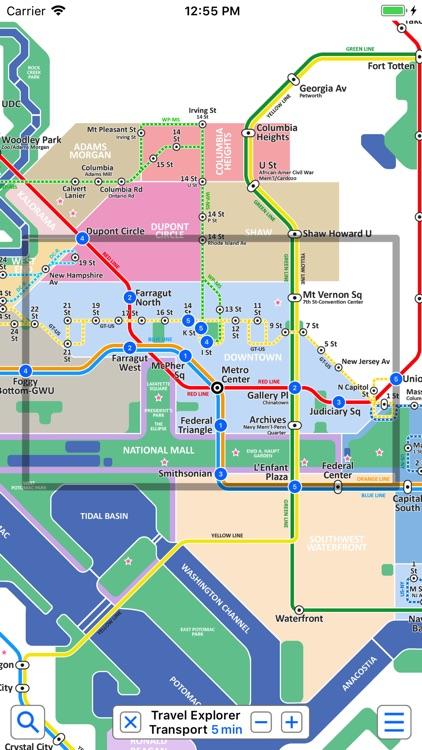 Washington Metro by Zuti