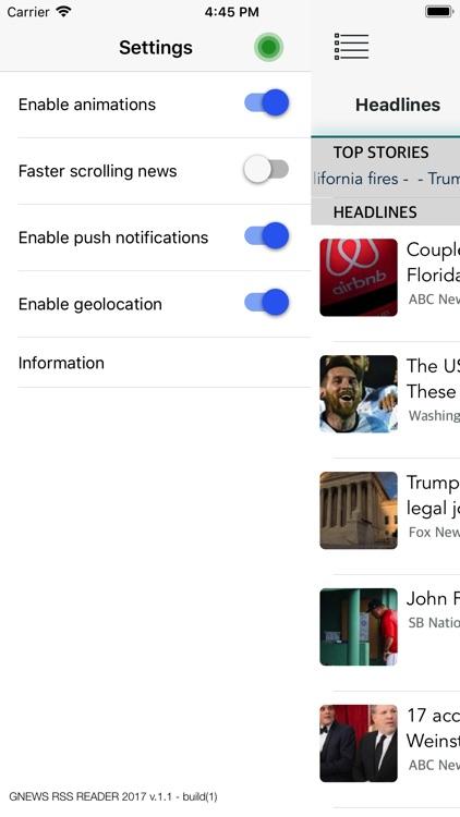 GNews RSS screenshot-3