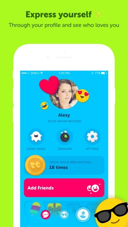 Zenly screenshot-3