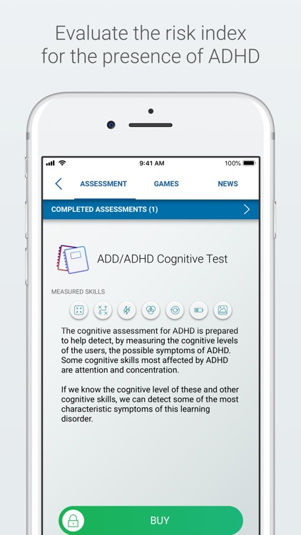 ADHD Test and Training screenshot-1