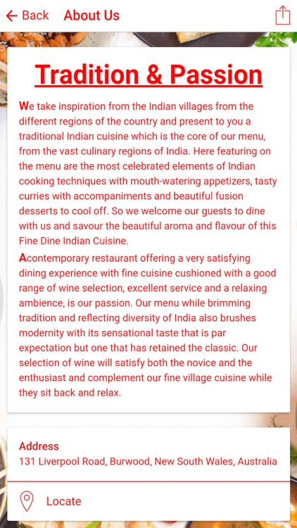 Taste of Village
