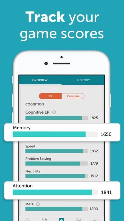 Lumosity: Daily Brain Games screenshot-4
