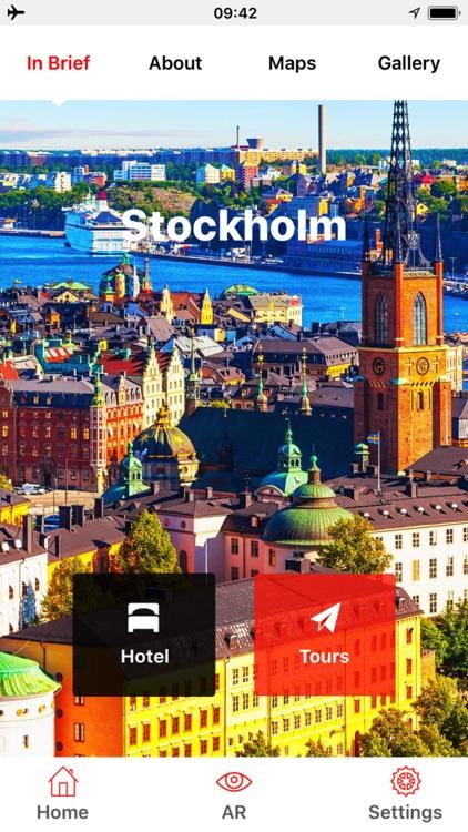 Stockholm Travel Guide Offline screenshot-0