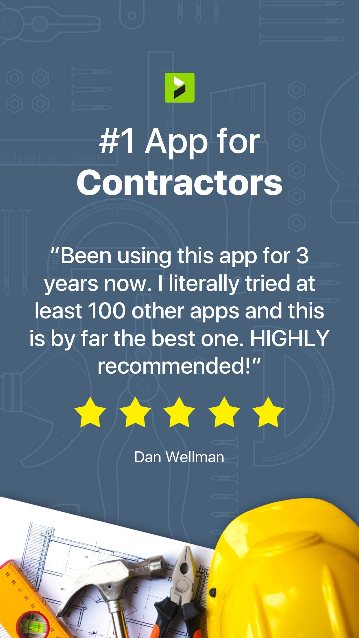 Joist App for Contractors Screenshot