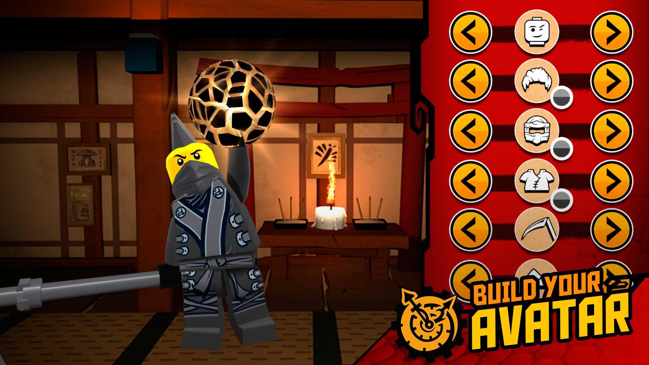 THE LEGO® NINJAGO® MOVIE™ app Screenshot