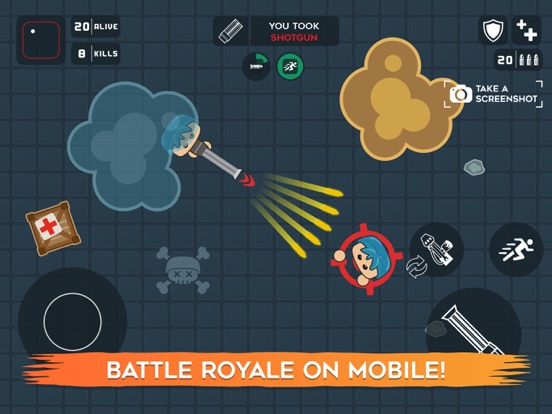 Mobg.io Survive Battle screenshot 12