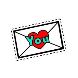 Love Stickers: Valentine's Day