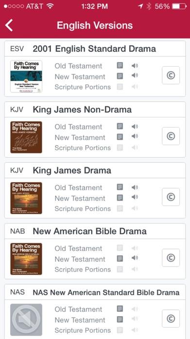 Bible.is - Audio Bibles Screenshot