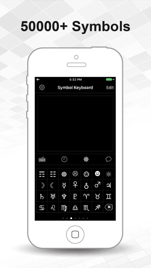 Symbol Keyboard For Message On The App Store