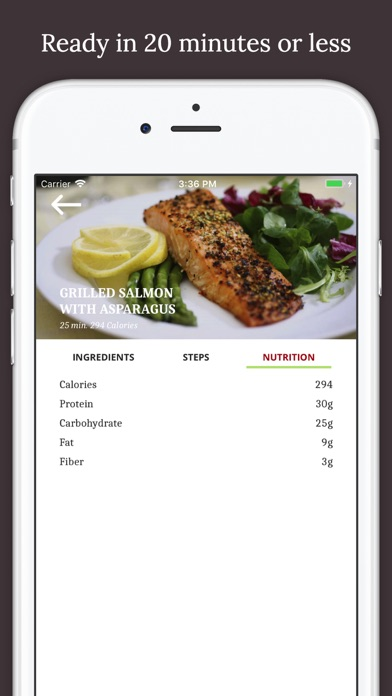 Fitness Chef Healthy Food - Calisthenics Meal Plan screenshot four