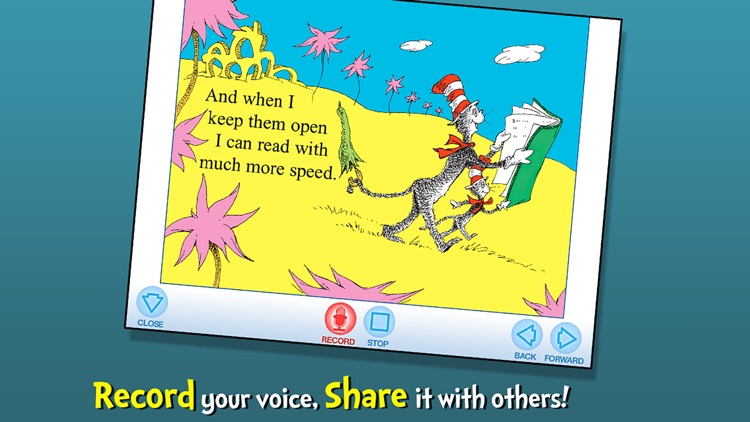 I Can Read With My Eyes Shut! - Dr. Seuss screenshot-3